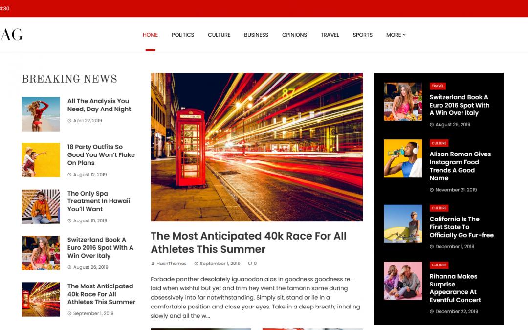 Free WordPress Theme: Viral Mag