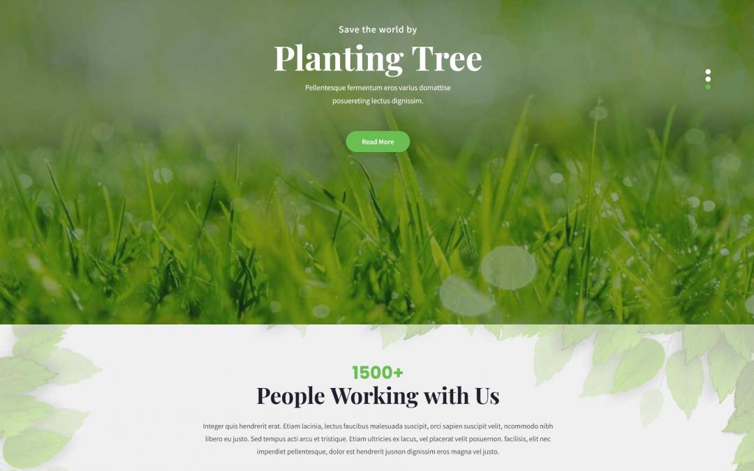 Free WordPress Theme: SKT Green