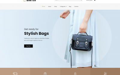 Free WordPress Theme: Barter
