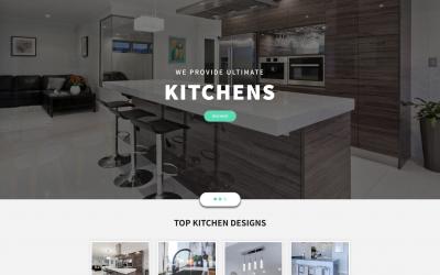 Free WordPress Theme: Kitchen Design