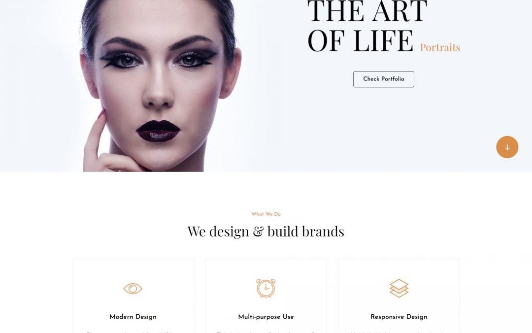 Free WordPress Theme: PhotoFocus Light