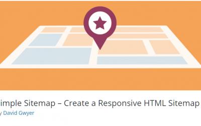 Free WordPress Plugin: Simple Sitemap – Create a Responsive HTML Sitemap