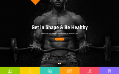 Free WordPress Theme: SKT Gym