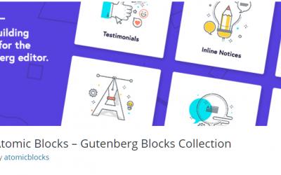 Free WordPress Plugin: Atomic Blocks – Gutenberg Blocks Collection