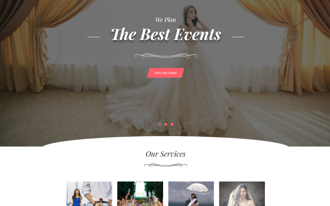 Free WordPress Theme: Banquet Hall