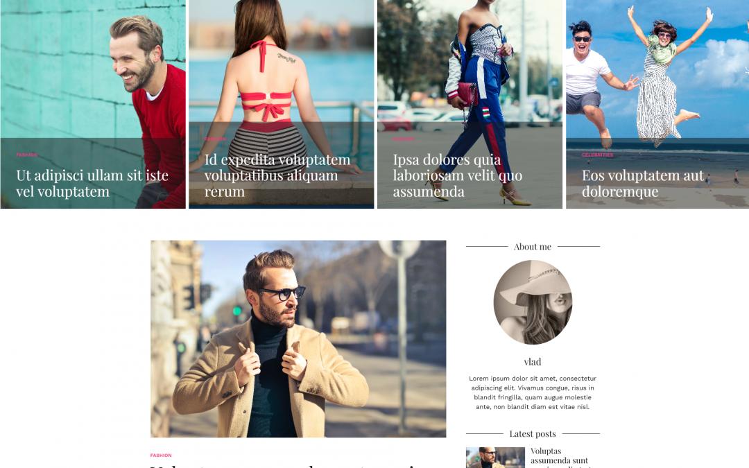 Free WordPress Theme: Cali