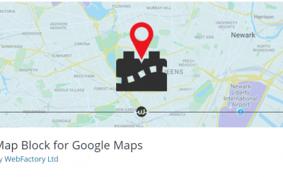 Free WordPress Plugin: Map Block for Google Maps