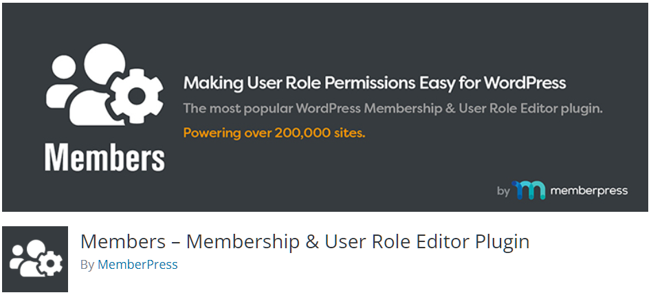 Free WordPress Plugin: Members – Membership & User Role Editor Plugin