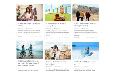 Free WordPress Theme: Simple Press
